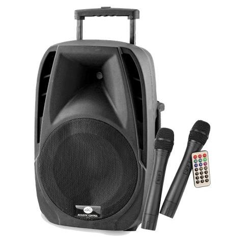 "COMBO12  BAFLE PORTATIL MP3 USB 12"" 300W"