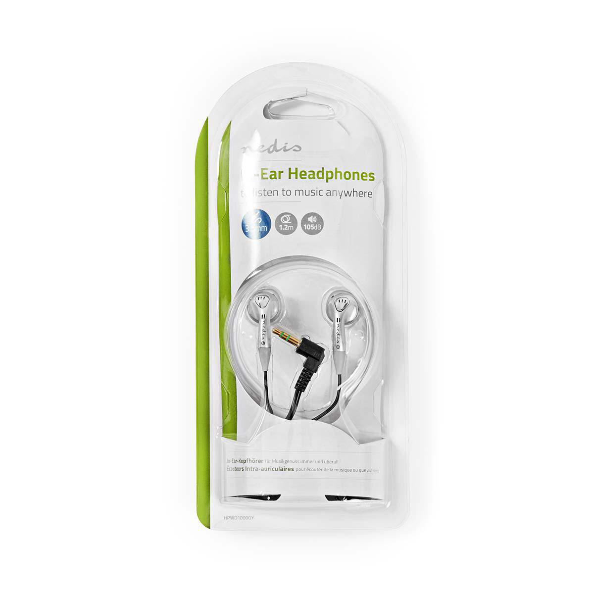 HPWD1000GY  AURICULARES JACK 3,5mm