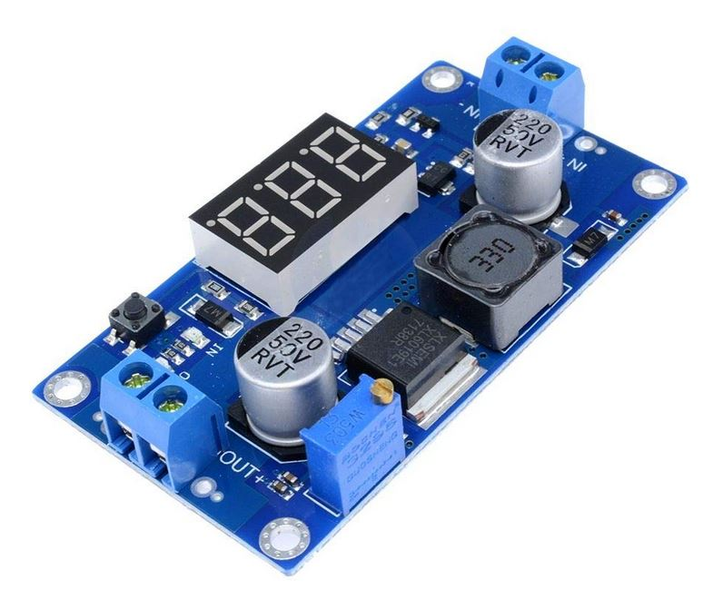 MD0712  MODULO ELEVADOR CON DISPLAY 4,5V-32VDC